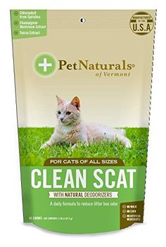 Pet Naturals of Vermont Clean Scat, Digestive Support and Litter Box Odor Control for Cats, 45 Bite-Sized Chews, Multicolor Pet Supplements, Thing 1, Cat Care Tips, Pet Life, Cat Health, Natural Cleaning Products, Litter Box, Pet Store, Cat Love