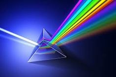 You probably learned in school about all light coming from the sun, and that if you shone a light through a prism you would see the full spectrum of rainbow colours. Triangular Prism, Hd Led, Color Psychology, 3d Rendering, Reiki, Cosmic, Maya, Colors, Ghosts