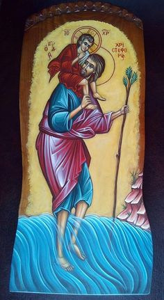 Saint Christopher, Princess Zelda, Disney Princess, Tarot, Disney Characters, Fictional Characters, Saints, Orthodox Icons, Fantasy Characters