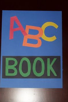 ABC crafts (ideas for the entire alphabet) Alphabet Letter Crafts, Alphabet Book, Alphabet Activities, Learning The Alphabet, Abc Crafts, Learning Activities, Preschool Learning, Daycare Crafts, Apple Crafts