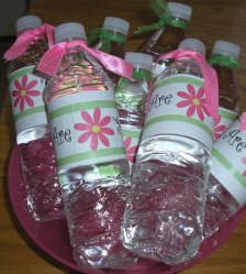 custom water bottles for guests