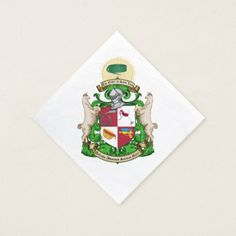 Order of Saint Luis Coat of Arms Napkins - wedding party gifts equipment accessories ideas