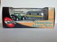 100% Hot Wheels 2003 HEMMINGS MOTOR NEWS 2-CAR SET Ford Truck