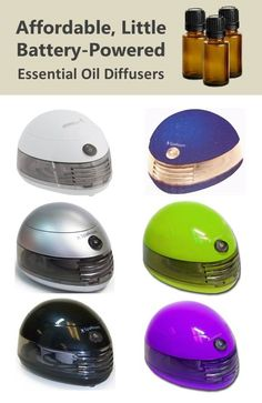 These are great little diffusers! They won't replace your larger diffusers, but they're perfect for small spaces like in the car, on a desk, or at the kitchen table while kids study.