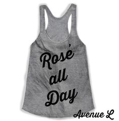 Rose All Day Racerback Tank