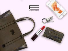 Bolso shopping y cartera  de E.Ferri