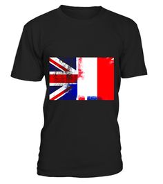 """# British French Half France Half UK Flag Shirt .  Special Offer, not available in shops      Comes in a variety of styles and colours      Buy yours now before it is too late!      Secured payment via Visa / Mastercard / Amex / PayPal      How to place an order            Choose the model from the drop-down menu      Click on """"Buy it now""""      Choose the size and the quantity      Add your delivery address and bank details      And that's it!      Tags: Half British half French t-shirt for…"""