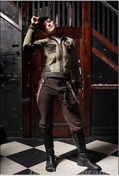 Added by Tome Wilson in Dieselpunk fashion - Lets make this a thing!!!!