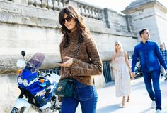 The Best Fashion Week Street Style: New York, London, Milan, and Paris Spring 2016 Ready-to-Wear