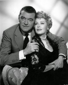 "Arlene Dahl & Jack Hawkins in "" Fortune Is a Woman"