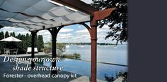 Pergola Canopies and Covers   Retractable Deck Awnings   ShadeTree ...