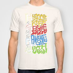 Hogwarts Houses T-shirt by Oddhour - $22.00