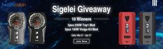 Help me to win Sigelei multiple prize, thanks to @HealthCabin