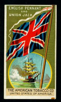 Cigarette Card - Union Jack