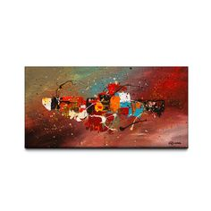 Boundaries 24x48 Canvas Art Print - Overstock™ Shopping - Top Rated Canvas