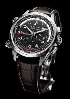 Estação Cronográfica: Em primeira mão - pré-lançamento da nova linha de relógios Zenith Pilot