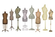 Check out Vintage Dress Form Clip Art by PaulaKimStudio on Creative Market