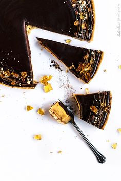 Tarta de caramelo y ámbar