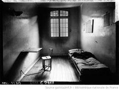 La prison de Fresnes, intérieur d'une cellule : [photographie de presse] / Agence Meurisse - 1