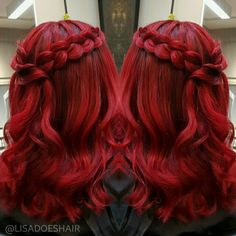 Cherry bomb using pravana color