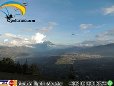 Paragliding Baños Ecuador The possibility of realizing a dream is what makes life interesting . Make paragliding instructors with experience and certificates.