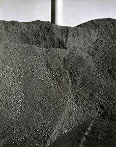 Grant Mudford (Australia, United States of America, *1944) - BBC mine number 1, coal and column, 1981