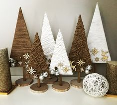 Handmade Christmas tree I Love them Handmade Christmas . Handmade Christmas tree I Love them Handmade Christmas tree I Love them Handmade Christmas Tree, Rustic Christmas, Simple Christmas, Christmas Holidays, Christmas Ornaments, Wood Ornaments, Christmas 2019, Christmas Projects, Holiday Crafts