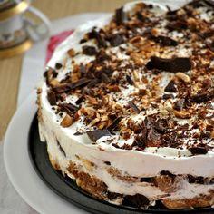 Lemon Trifle, Pizza Muffins, How Sweet Eats, Dessert Recipes, Desserts, Greek Recipes, Tiramisu, Sweet Tooth, Tasty