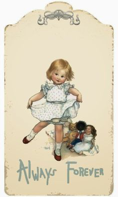 Illustration by Susan Beatrice Pearse (British, Vintage Labels, Vintage Ephemera, Vintage Postcards, Vintage Girls, Vintage Children, Vintage Pictures, Vintage Images, Vintage Prints, Vintage Art