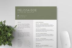 Mighty Resume Bundle by Tugcu Design Co. on Creative Market