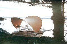 Vintage Moss Tent