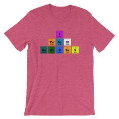 Childrens T-Shirt Science Kids 10 Colours JIM Periodic Element