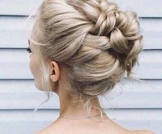 braided up-do Up Hairstyles, Pretty Hairstyles, Wedding Hairstyles, Wedding Updo, Braided Hairstyles, Unique Hairstyles, Hairstyle Ideas, Bohemian Updo Wedding, Glamorous Hairstyles