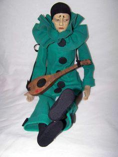 Lenci Pierrot sad face by lenci*boudoir*doll*lady, via Flickr