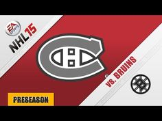 Catch the highlights of the MONTREAL CANADIENS as they host the BOSTON BRUINS in preseason action on September 23, 2014 at the Bell Centre. Who will come out on top? Find out in today's featured game of the National Hockey League on PLAY NHL, a presentation of The Sportscrafters and an EA Sports NHL 15 simulation. Play calling by Sportscrafter Eric Munter.