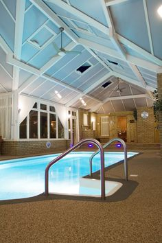 Indoor swimming pool cost | Home and Decorating | Pinterest ...