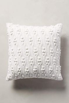 Fisherman's Cableknit Pillow - anthropologie.com
