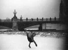 Budapest, ice skating rink in the City Park Budapest Hungary, Park City, Ice Skating, Old Photos, The Past, Louvre, Culture, Travel, Beautiful