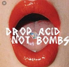 Find images and videos about lips, peace and hippie on We Heart It - the app to get lost in what you love. Red Aesthetic, Aesthetic Grunge, Photo Wall Collage, Picture Wall, Fridah Kahlo, Drugs Art, Trippy Wallpaper, Wallpaper Desktop, Acid Art