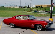 1968 Buick Skylark Gran Sport with 462 cubic inch displacement.