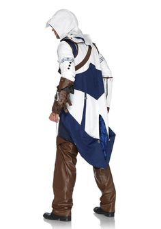 Leg Avenue Women's Assassin's Creed 5 Piece Connor, White, X-Small - See more at: http://halloween.florenttb.com/costumes-accessories/leg-avenue-women39s-assassin39s-creed-5-piece-connor-white-xsmall-com/#sthash.YC5BGdkO.dpuf
