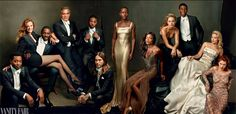 Vanity Fair's 20th Anniversary Hollywood Issue, shot by Annie Leibovitz.