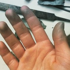 Silver fingers! #handmadesilverjewellery #JewelleryMaking #silverjewellery #handmade
