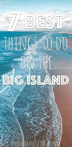 Are you looking for the best things to do on the Big Island of Hawaii? You're in luck! We LOVE Hawaii and these are our favorite things to do on the Big Island. If you're planning a vacation to the Big Island of Hawaii, this is a must read! Big Island Hawaii, Best Island Vacation, Lanai Island, Island Beach, The Big Island, Hawaii Vacation Rentals, Hawaii Destinations, Hawaii Honeymoon, Hawaii Travel