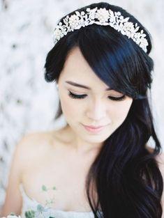This tiara is dreamy!    Bella Collina Weddings