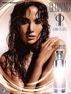 Jennifer Lopez Glowing Perfume - The Perfume Girl. Fragrances and colognes from fashion houses and perfume designers. Scent resources, perfume database, and campaign ad photos. Jennifer Lopez, Jlo Perfume, Perfume Bottles, Celebrity Perfume, Thing 1, Beauty Shots, Perfume Collection, Winter Fashion Outfits, Body Spray