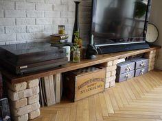 テレビボード DIY BRIWAX アンティーク