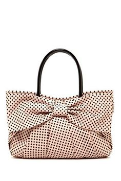 MUST SHARE Polka Dot Bow Tote...