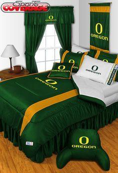 Oregon Ducks 4-Piece Twin, Full, Queen, King Bedding Set   Ducks, Bedding and Oregon Ducks