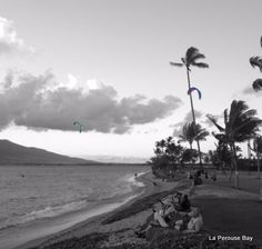 Kiting in North Kihei, Maui. Unexpected Kona Wind is always a treat. #Maui #kiting #kiteboarding #adventure #Hawaii #extreme-sports #water #ocean #women #vacation #beach